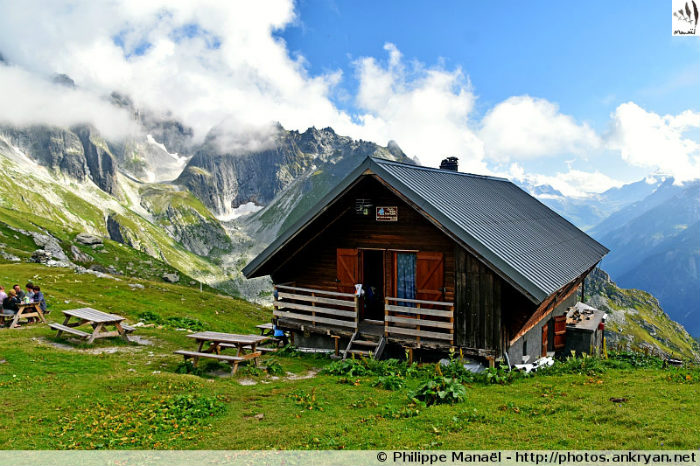 Refuge du Grand Bec, Le Planay (Vanoise, Savoie, France)
