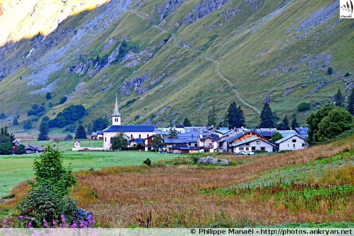 Champagny-le-Haut, hameau du Bois (Savoie, France)