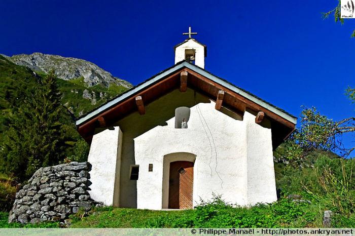 Chapelle Notre-Dame-des-Grâces, Friburge (vallée de Champagny-le-Haut, Savoie, France)