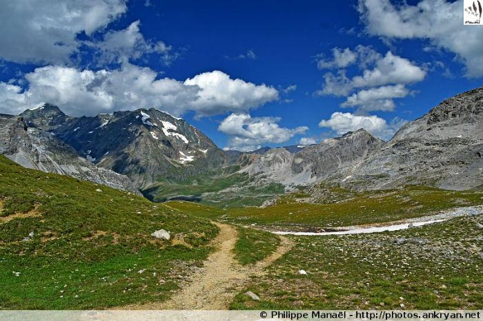 Col du Plan Séry et le Val de Genêt (Vanoise, Savoie, France)