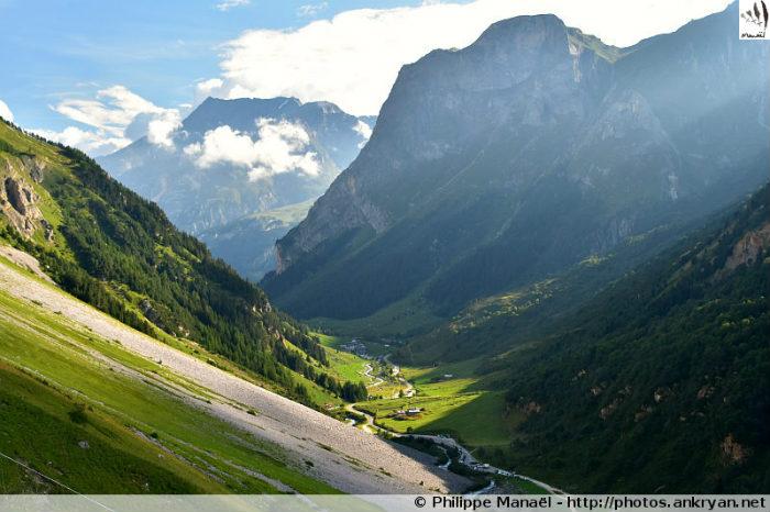 Pentes de la Grande Perrière, vallée de Chavière (Savoie, France)
