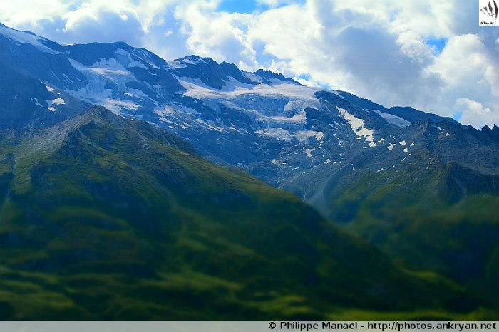 Glacier du Génépy, massif de la Vanoise (Savoie, France)