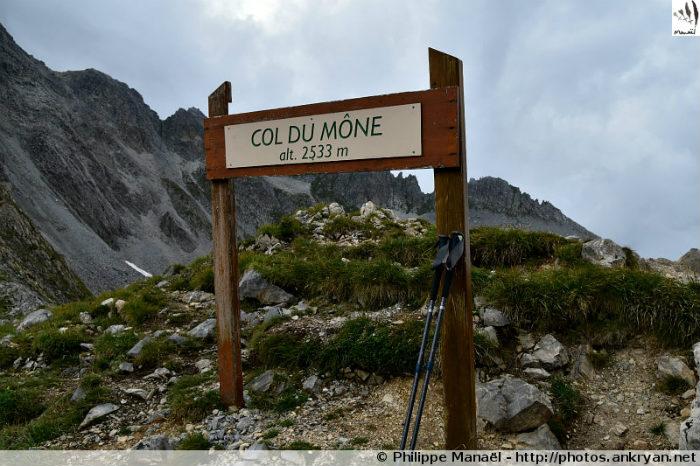 Col du Mône, massif de la Vanoise (Savoie, France)