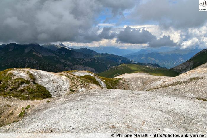 Sommet du Petit Mont Blanc (Vanoise, Savoie, France)