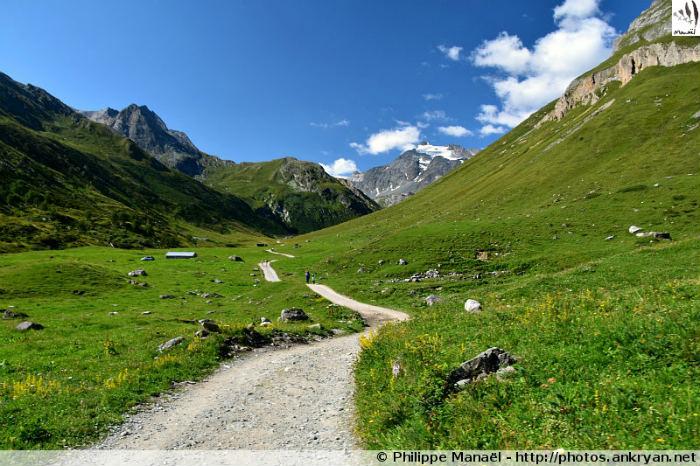 Vallée du Doron de Chavière, massif de la Vanoise (Savoie, France)