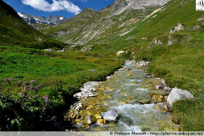 Doron de Valpremont - Vallon de Chavière, massif de la Vanoise (Savoie, France)