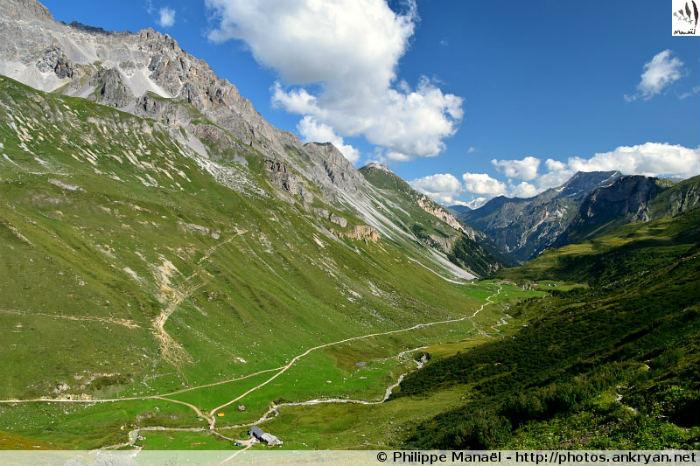Vallée de Chavière, massif de la Vanoise (Savoie, France)