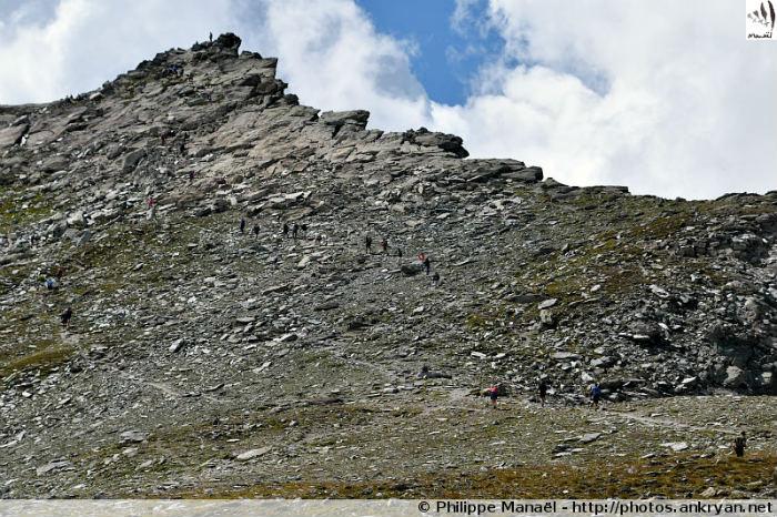 Sommet de la Pointe de l'Observatoire, massif de la Vanoise (Savoie, France)