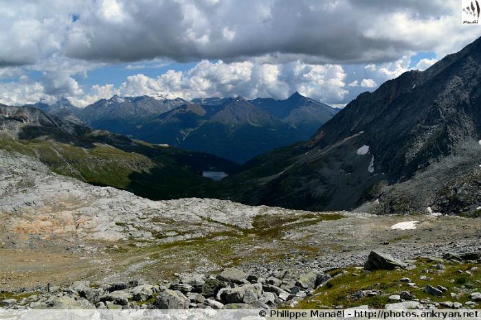 Pointe de l'Observatoire : vallée de la Maurienne, massif de la Vanoise (Savoie, France)