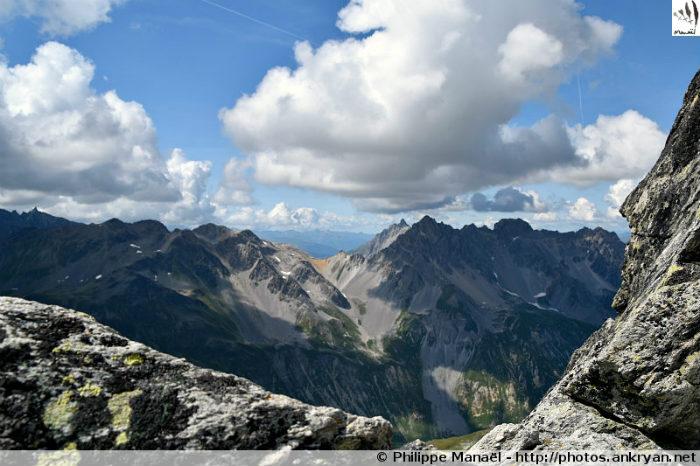 Pointe de l'Observatoire : col Rouge, massif de la Vanoise (Savoie, France)