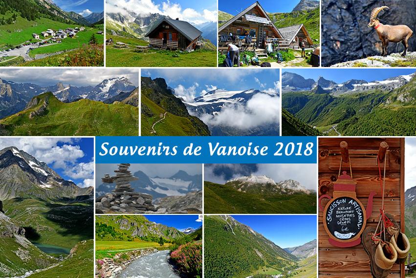 Souvenirs : Hauts de la Vanoise 2018 (Trekking Alpes, Savoie, France)