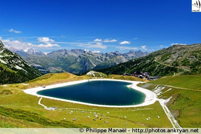 Bourg-Saint-Maurice - Arc 2000 - Refuge du Mont Pourri (2374 m) (trekking Traversée de la Vanoise). France, Rhône-Alpes, Savoie