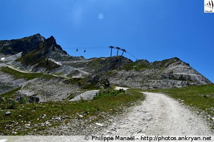 Col du Grand Renard, Les Arcs / Bourg-Saint-Maurice (Vanoise, Savoie, France)