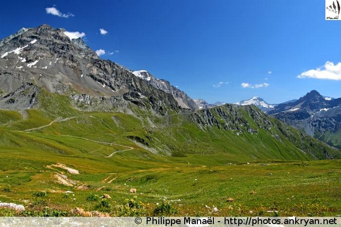 Glacier de Turio et Crête des Lanchettes, Peisey-Nancroix (Vanoise, Savoie, France)