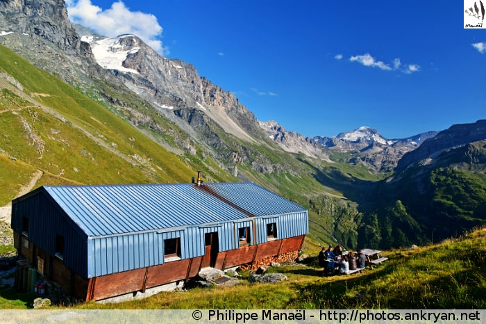Refuge du Mont Pourri, Peisey-Nancroix (Vanoise, Savoie, France)