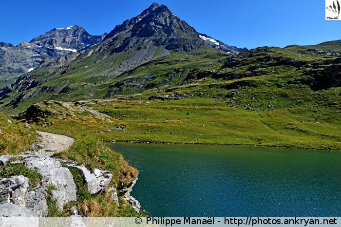 Lac de la Plagne, Peisey-Nancroix (Vanoise, Savoie, France)