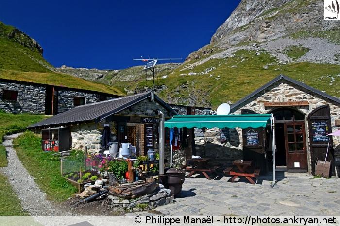 Refuge d'Entre le Lac, Peisey-Nancroix (Vanoise, Savoie, France)