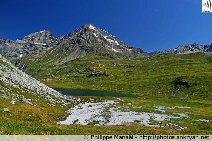 Dôme de la Sache, Lac de la Plagne (Vanoise, Savoie, France)