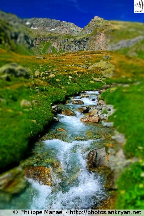 Ruisseau du Py et Cul du Nant, Champagny-en-Vanoise (Savoie, France)