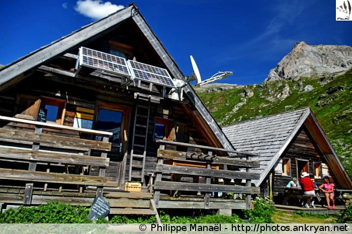Chalets chaloin du refuge de Plaisance, Champagny-en-Vanoise (Savoie, France)