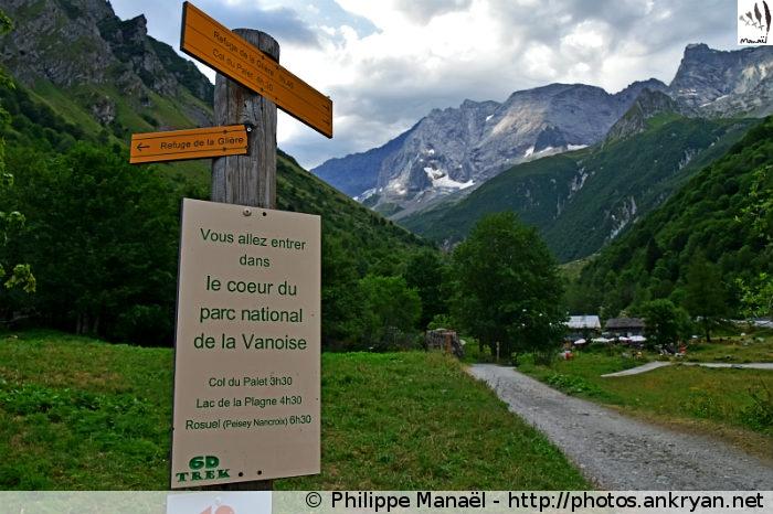 Laisonnay d'en Haut, vallée de Champagny-le-haut (Vanoise, Savoie, France)
