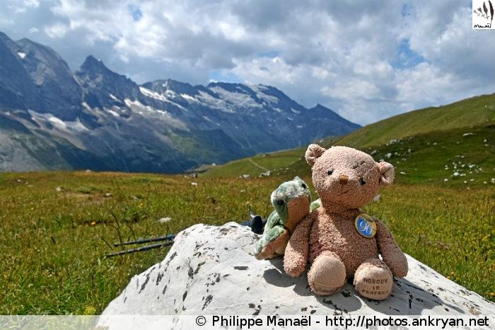 Duo Solidaire au Grand Plan, vallée de Champagny-le-haut (Vanoise, Savoie, France)