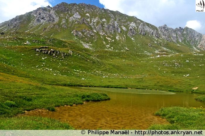 Lac du Grand Plan, vallée de Champagny-le-haut (Vanoise, Savoie, France)