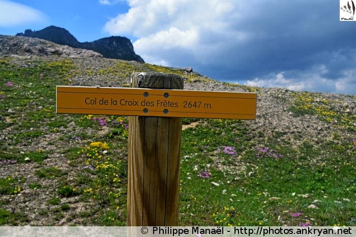 Col de la Croix des Frêtes (Vanoise, Savoie, France)