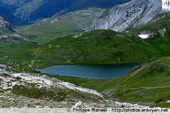 Lac du Grattaleu, Peisey-Nancroix (Vanoise, Savoie, France)