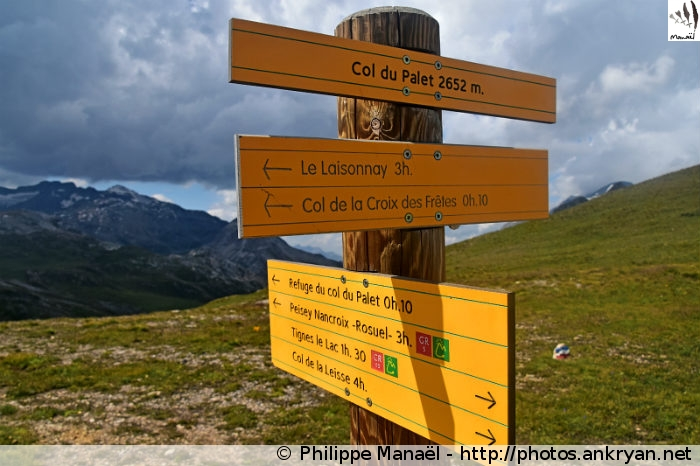 Col du Palet, Peisey-Nancroix (Vanoise, Savoie, France)