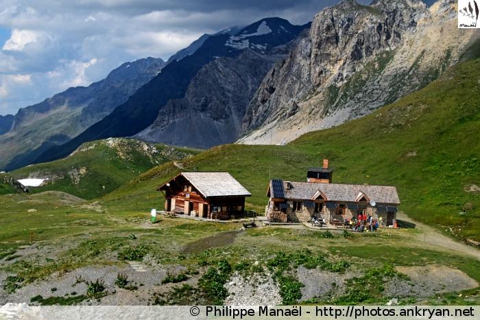 Refuge du Col du Palet, Peisey-Nancroix (Vanoise, Savoie, France)
