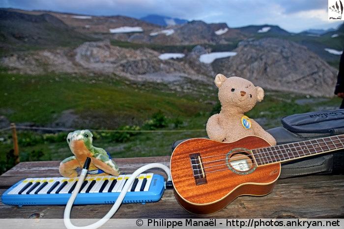 Le #DuoSolidaire en concert live au refuge du Col du Palet (Vanoise, Savoie, France)