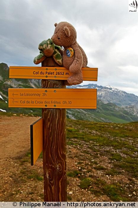 Le #DuoSolidaire au col du Palet (Vanoise, Savoie, France)