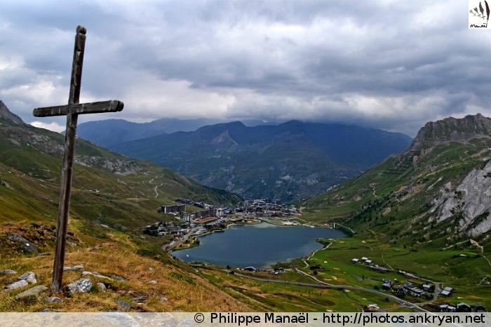 Croix de Lognan, Tignes le Lac (Vanoise, Savoie, France)