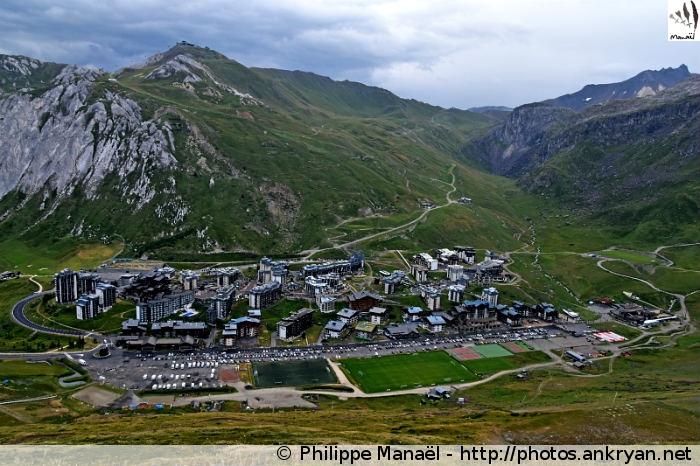 Tignes Val Claret (Vanoise, Savoie, France)