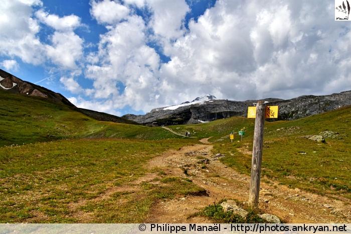 Intersection entre les cols de Fresse et la Leisse (Vanoise, Savoie, France)