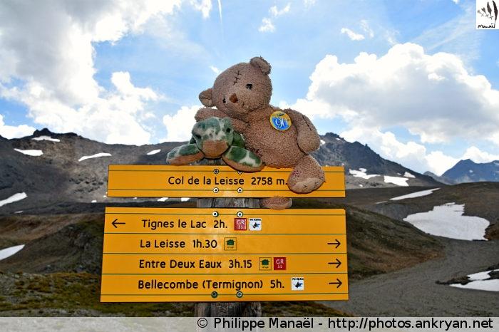 Le #DuoSolidaire au col de la Leisse (Vanoise, Savoie, France)