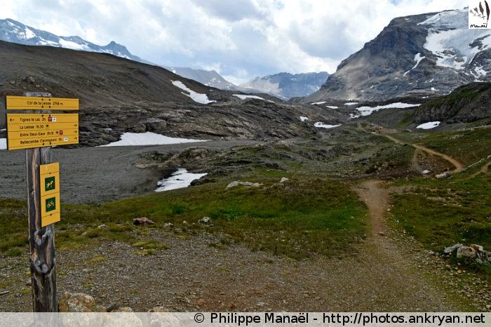 Col de la Leisse (Vanoise, Savoie, France)