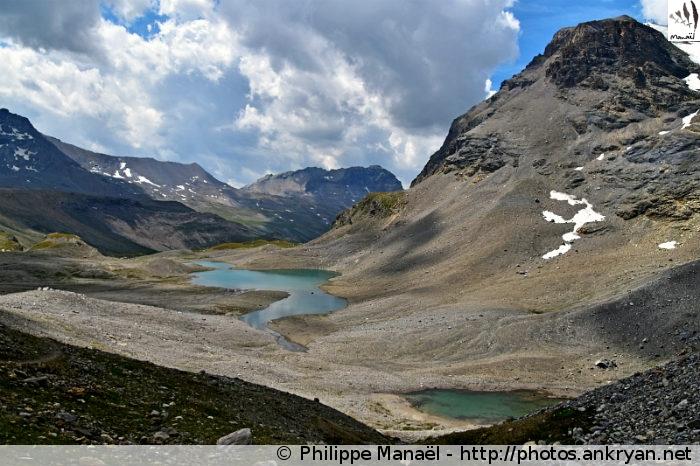 Refuge du Col du Palet - Col de la Leisse - Refuge de la Leisse (2487 m) (trekking Traversée de la Vanoise). France, Rhône-Alpes, Savoie