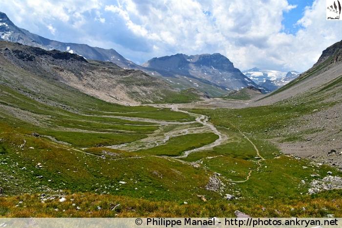 Plan des Nettes, vallon de la Leisse (Vanoise, Savoie, France)