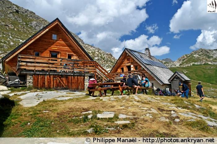 Chalets du refuge de la Leisse, Termignon (Vanoise, Savoie, France)
