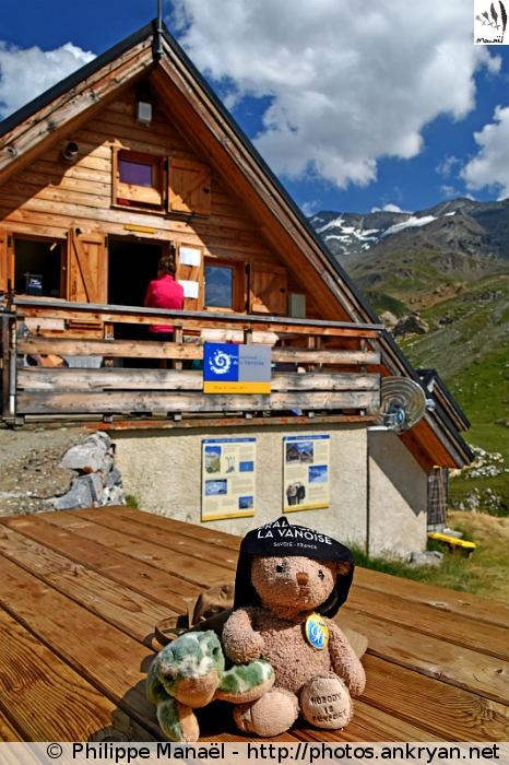 Le #DuoSolidaire au refuge de la Leisse (Vanoise, Savoie, France)