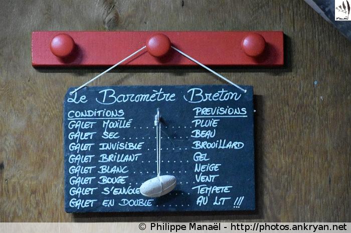 Baromètre breton, refuge de la Leisse (Vanoise, Savoie, France)