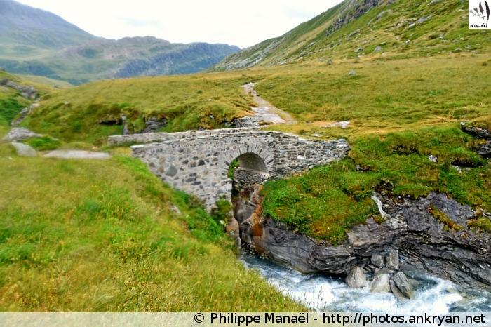 Pont de Croë-Vie, Termignon (Vanoise, Savoie, France)