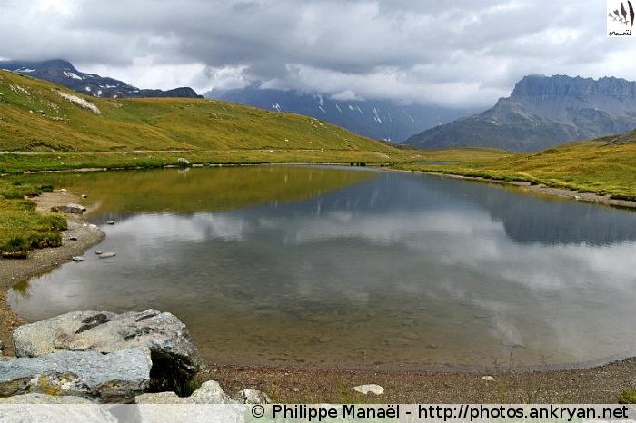 Lac du Plan du Lac, plateau de Bellecombe, Termignon (Vanoise, Savoie, France)