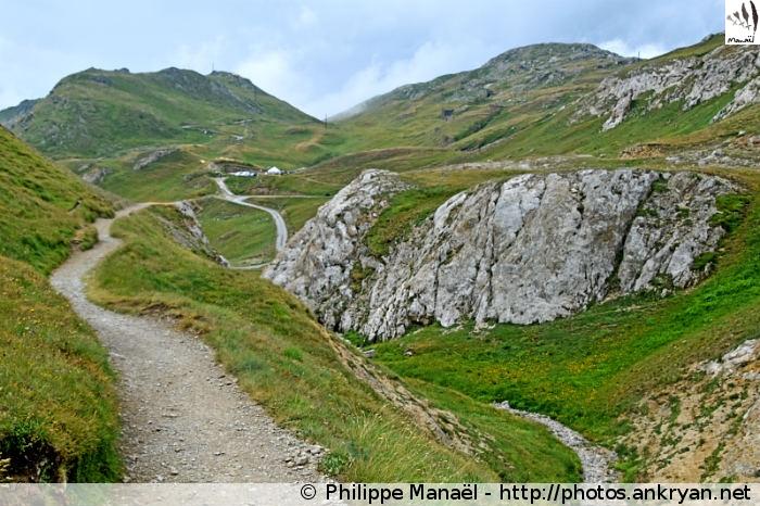 Vers le parking de Bellecombe, Termignon (Vanoise, Savoie, France)