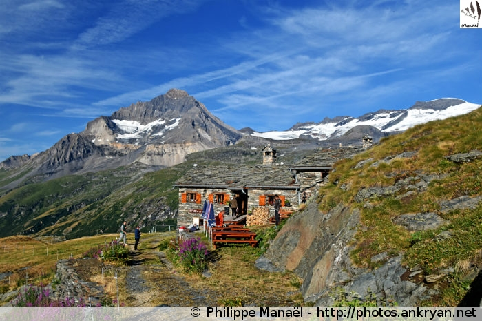 Refuge du Lac Blanc en Vanoise, Termignon (Savoie, France)