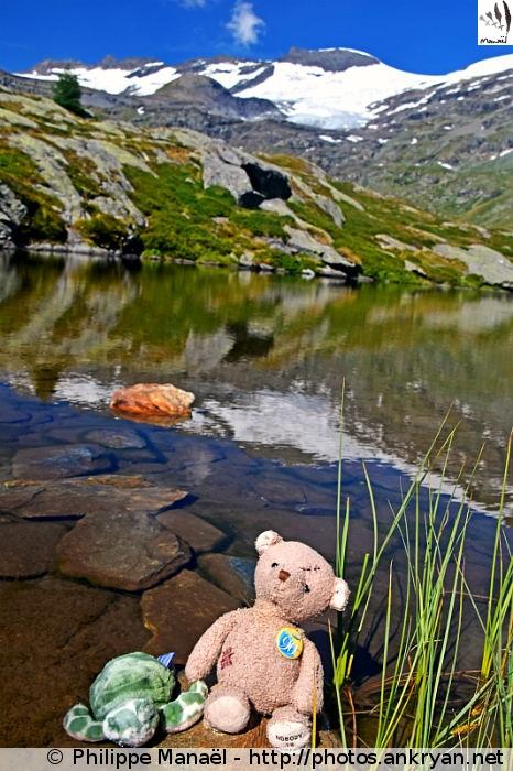 Le #DuoSolidaire au Lac Blanc de Termignon, Bellecombe (Vanoise, Savoie, France)