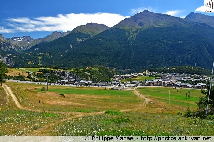 Sur les hauteurs d'Aussois (Vanoise, Savoie, France)
