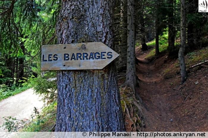 Vers les barrages Plan d'Aval et d'Amont (Vanoise, Savoie, France)